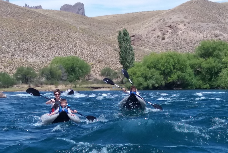 Full-Day Duckies Expedition - Limay River - ARGENTINA